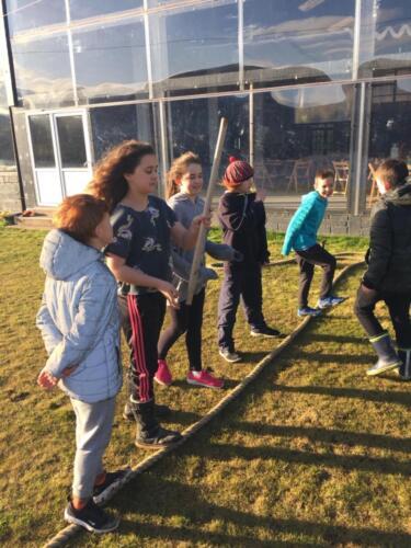 Youth group at Borland